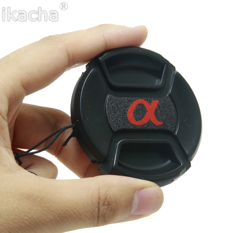 49mm 52mm 55mm 58mm 62mm 67mm 72mm 77mm 82mm Hood Cover Snap-On Lens Front Camera Lens Cap For Sony Alpha DSLR Lens Protector