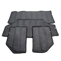 YAQUICKA Car Black Hardtop Sound Deadener Headliner Insulation Kit For Jeep JK Wrangler 4 Doors Or