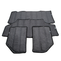YAQUICKA Car Black Hardtop Sound Deadener Headliner Insulation Kit For Jeep JK Wrangler 4 Doors Or