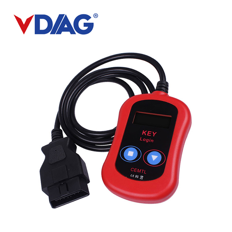 2018 For Vag Pin Code Reader Auto Key Programmer OBD2 Vag Key Login Car Diagnostic Tool Code Reader Free Shipping cheapest latest arrival benz ir code reader mercedes benz key programmer for reading key data mb key programmer free shipping