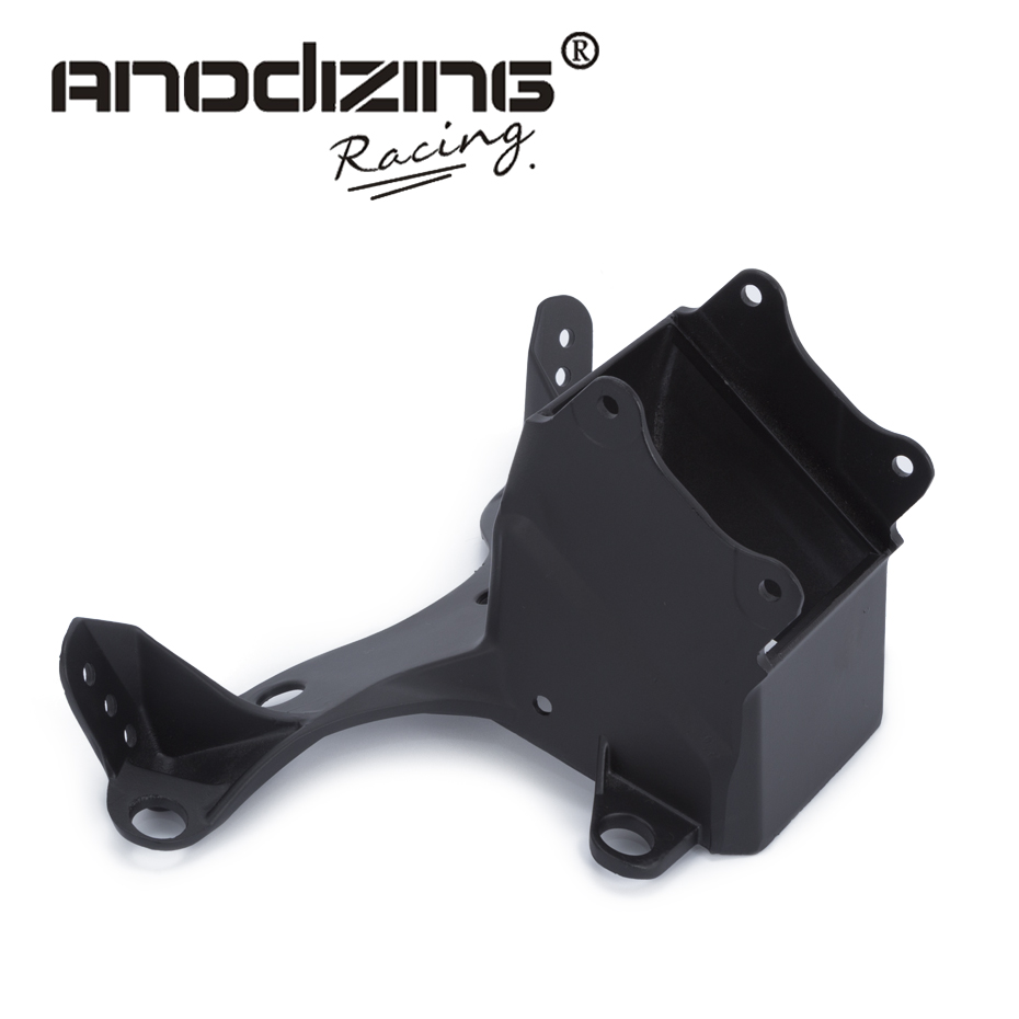 FREE SHIPPING Upper Fairing Stay Bracket for Yamaha R6 2006 2007 R6S 2006 headlight fairing stay bracket aftermarket free shipping motorcycle parts eliminator tidy tail for 2006 2007 2008 fz6 fazer 2007 2008b lack