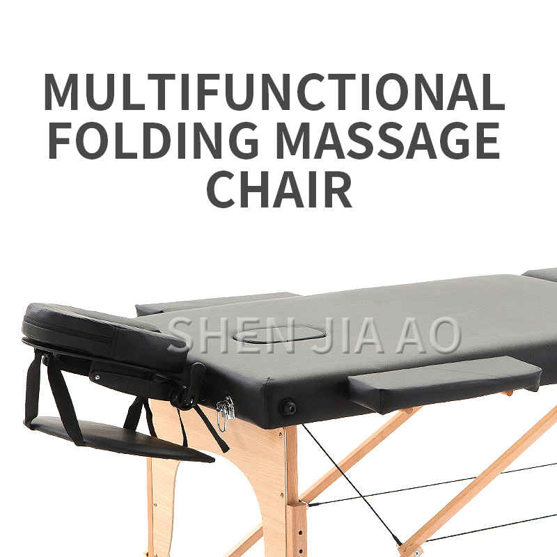 Folding Multi-function Massage Bed Chinese Medicine Massage Dedicated Health Massage Therapy Bed Reinforcement Massage Bed 1PC