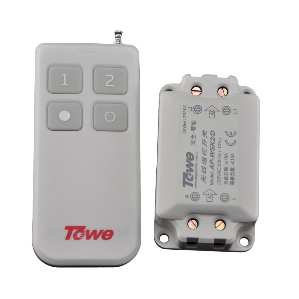 TOWE AP WSK2 D ceiling lamp wireless remote control segment switch ...