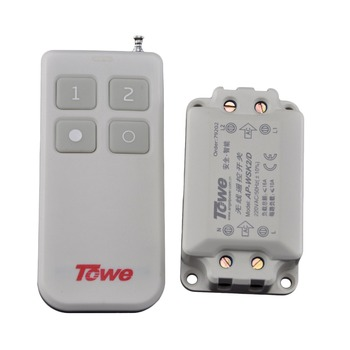 TOWE AP-WSK2-D ceiling lamp wireless remote control segment switch 220V two way autocephaly remote control switch control 380v wireless remote control switch two road three phase electric machinery water pump shed wireless controller switch
