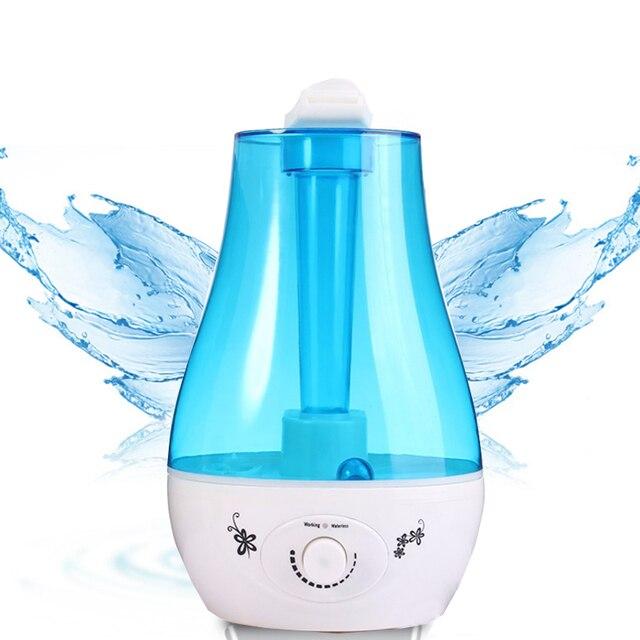 37a598b90deac 3.0L Ultrasonic Umidificador Purificador de Ar Difusor de Aroma Purificador  De Água De Mesa CONDUZIU