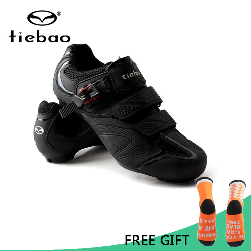 Tiebao Men Women Cycling Shoes Road Bike Shoes Riding Sneakers Racing Athletic Self Locking Bicycle Shoes