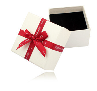 Cardboard Jewelry Boxes For Necklace Earrings Rings Bracelets Cufflink White Multifunctional paper packaging Gift Box