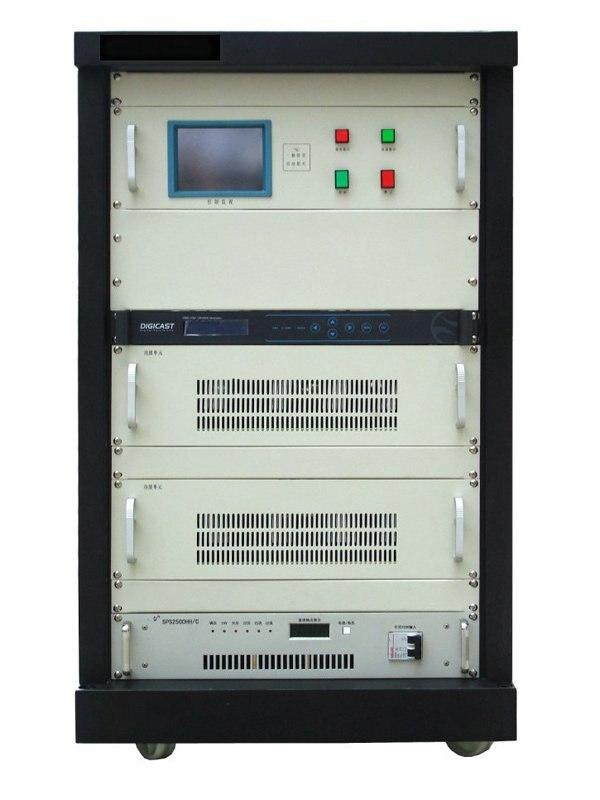 CZH518D 500 W VHF UHF все твердотельный накопитель DVB-T ТВ сигнала вещания передатчика цифровой ТВ станции вещания оборудование