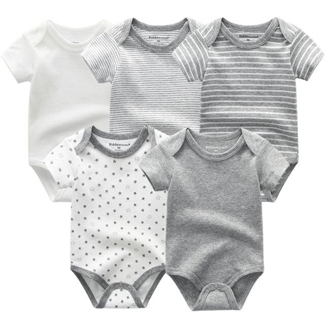 Kiddiezoom детские комбинезоны пижамы для маленьких девочек Дети Bebe Infantil одежда для новорожденных одежда из хлопка Одежда для маленьких мальчиков, Товары для детей - Цвет: baby boy romper5206