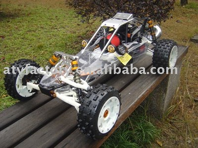 Free Shipping - 1/5 Scale 29cc Baja RC Car