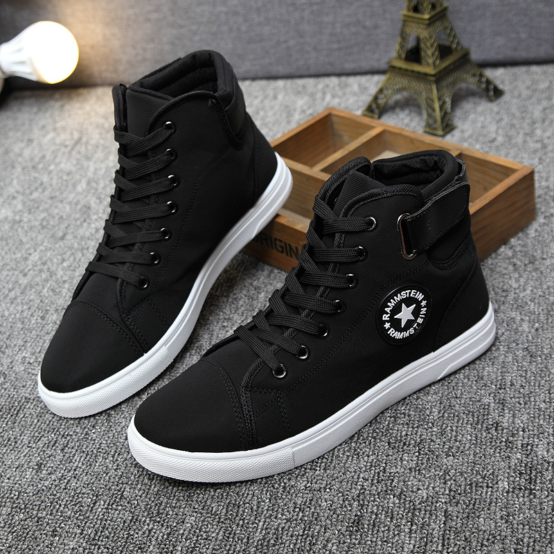 ZYYZYM Men Casual Shoes 2018 Spring Autumn Hot Sale Lace-up High - Men's Shoes - Photo 4