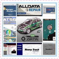 2019 Auto Repair ALLDATA V10.53 Software+mitchell on demand 5+vivid workshop+elsawin+atsg 50 in 1tb usb hdd hard disk all data