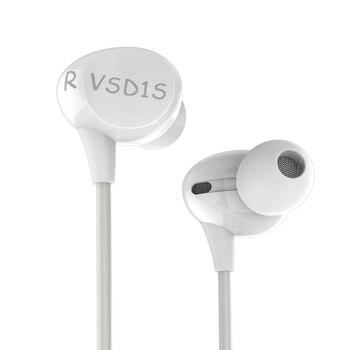 VSONIC חדש VSD1Si עם מיקרופון מקצועי רעש-בידוד HIFI באוזן אוזניות אוזניות אוזניות VSD1S אני