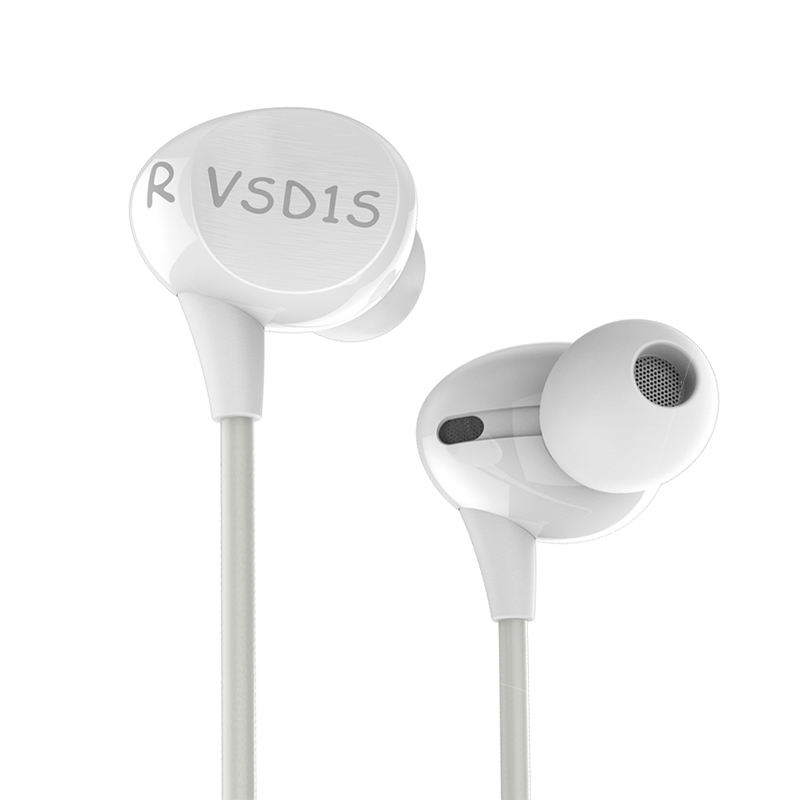 VSONIC NEW VSD1Si with Microphone Professional Noise-isolation HIFI In-ear Earphones Earbuds headset VSD1S i kanen ip 608 stylish in ear earphones w microphone clip red white 3 5mm plug 120cm