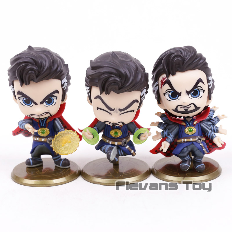 Toys & Hobbies Apprehensive Hot Toys Cosbaby Marvel Avengers Infinity War Doctor Strange Fighting Ver Bobble Head Action Figure Toy Doll For Car Decoration Easy To Use