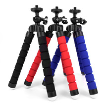 купить FoletoTripods tripod for phone Mobile camera holder Clip smartphone monopod tripe stand octopus mini tripod stativ for phone hot дешево