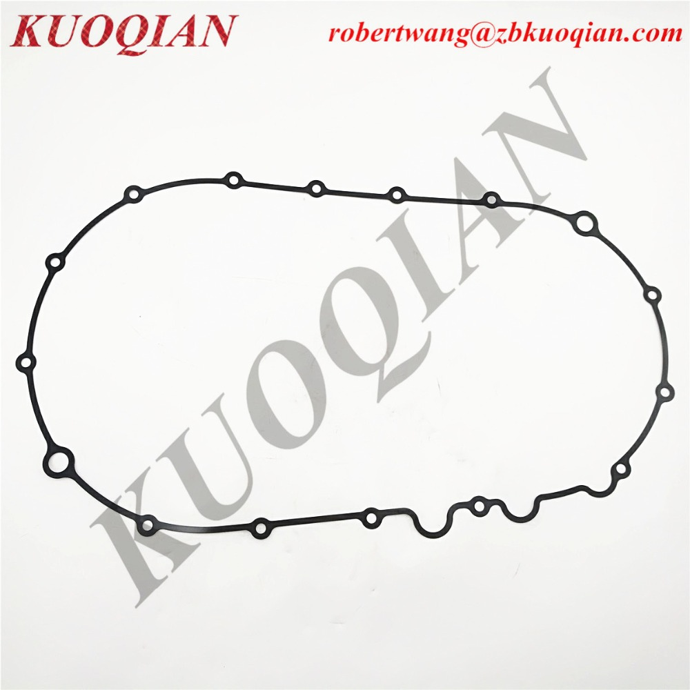 hight resolution of kuoqian rubber gasket cvt case cover gasket transmission box cover for cfmoto cf500 cf188 engine atv utv spare part 0180 013103