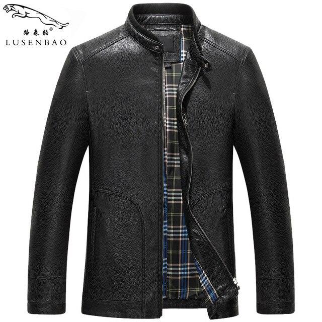 Mens Sheepskin Coat New Style Men's Spring Fashion Jackets And Coats Waterproof Men's Jacket  Leather  Leisure  Leather  Jacket