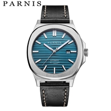 Parnis Mechanical Watches Automatic Watch Men Wristwatch Clock Top Brand Luxury Diver Sapphire Crystal Relogio Masculino 2018