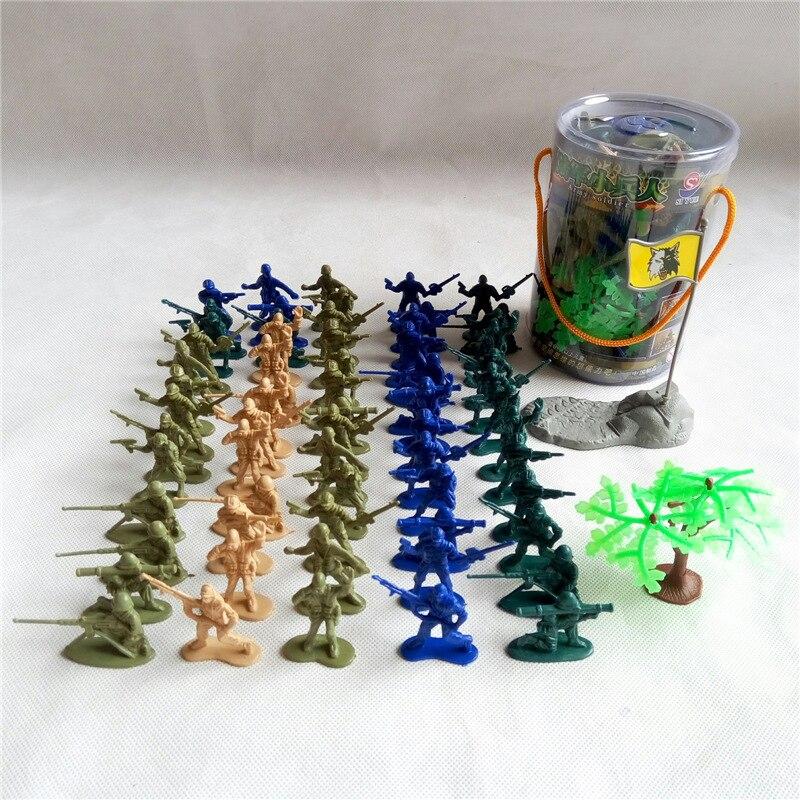 67ピース/セット陸軍兵士トルーパー静的モデルミリタリーモデルのおもちゃプラスチックのおもちゃ子供たちの戦いのおもちゃクリスマスギフト送料無料