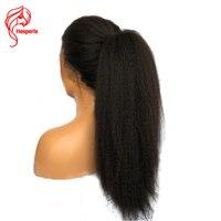 Hesperis странный прямо парики, кружева с ребенком волос 360 кружева фронтальной парики предварительно сорвал бразильский человеческих волос кр