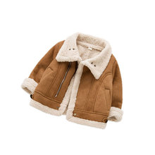 torkerna baby girls outerwear cute hooded faux collar cm