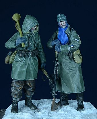 pre order-Resin toys 35006-SS Grenadier Set 1 Eastern Front  Winter 1943-45  Free shipping