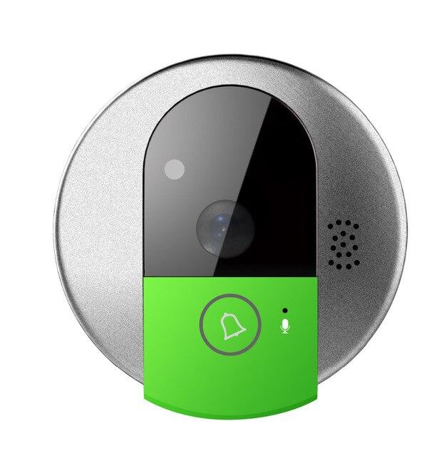 HD 720P WiFi  Doorcam IP door camera digital door viewer eye  Wireless Doorbell Android Phone Control video peephole door camera