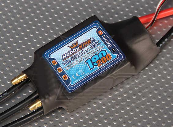 1PCS 200A Bürstenlosen ESC 2-7S Lipo Wasser Gekühlt Elektro Speed Controller für RC Benzin Boote Motor teil