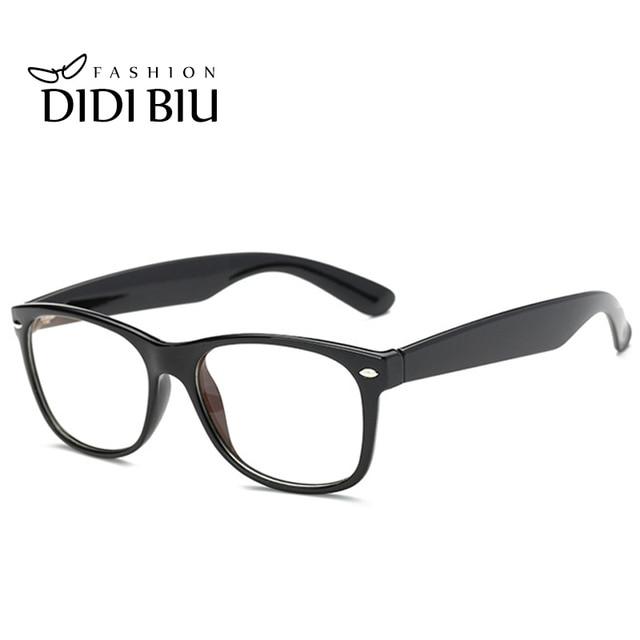 DIDI Rectangle Anti Radiation & Fatigue Glasses Women Men Full Rim ...