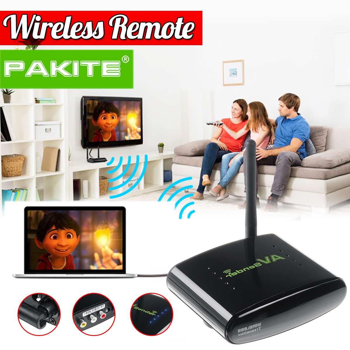 PAT-335 100 M 2,4G Smart Set-Top Box Sharing Gerät Drahtlose Sender-Set Top Box 50dB/ min AV Audio Video ransmitter Erhalten
