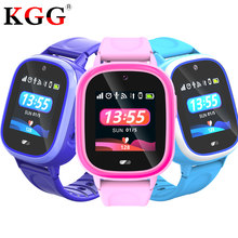 GPS Kids Smart Watch Baby Anti-lost Watch with Wifi Touch Screen IP67 Waterproof SOS Call Location Device Tracker for Children(China)