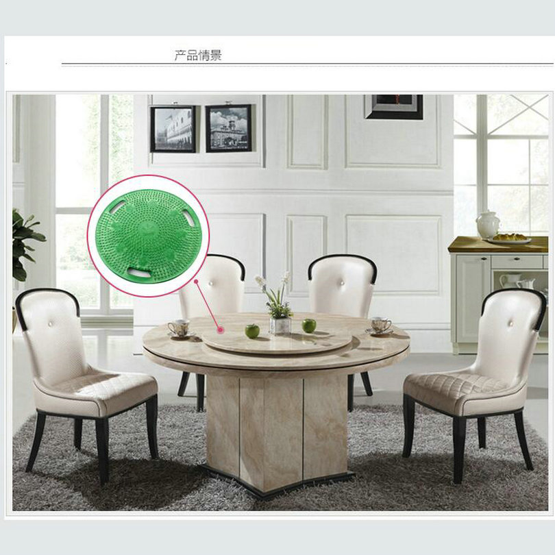 HQ SS88 Anti Skid Rubber Lazy Susan Turntable Dining Table Double Side  Swivel Plate For Wood Marble Or Glass Table Top In Furniture Accessories  From ...