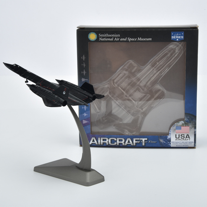 1/200 SR71 Blackbird Reconnaissance Aircraft Classic American Aircraft Model Mini Simulation Aircraft Toy