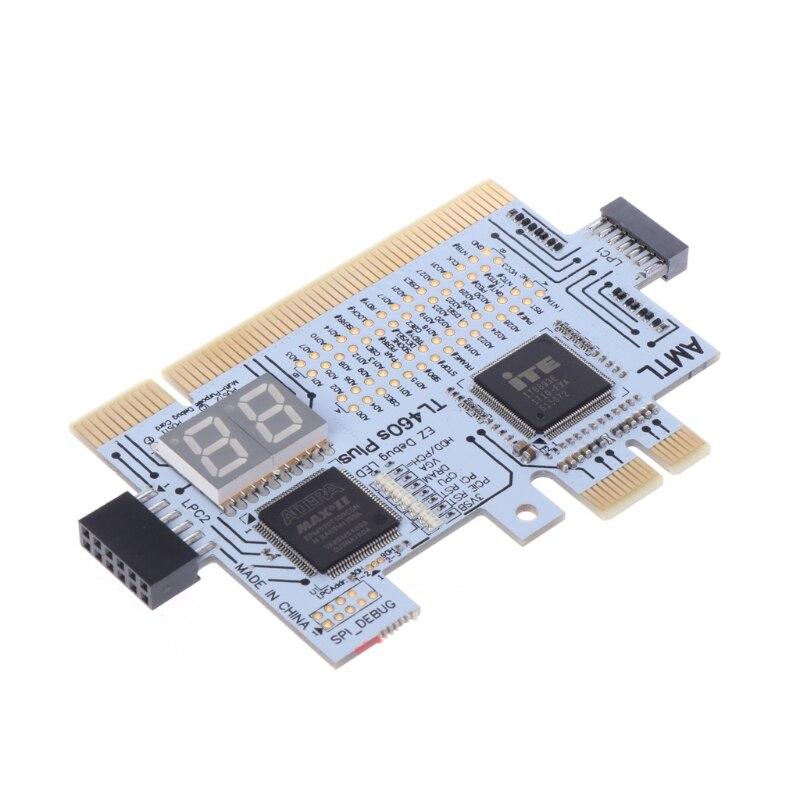 Multifunzione LPC-DEBUG Scheda PCI PCI-e LPC Scheda Madre di Diagnostica Test LPC-Debug Post card test diagnostico kit Z09 Nave di Goccia