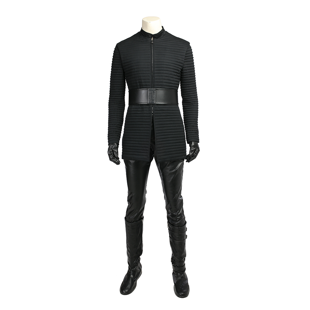 MANLUYUNXIAO Star Wars The Last Jedi Kylo Ren Costume Men Full Set Halloween Star Wars Cosplay Costume For Men Custom Made in Movie TV costumes from Novelty Special Use