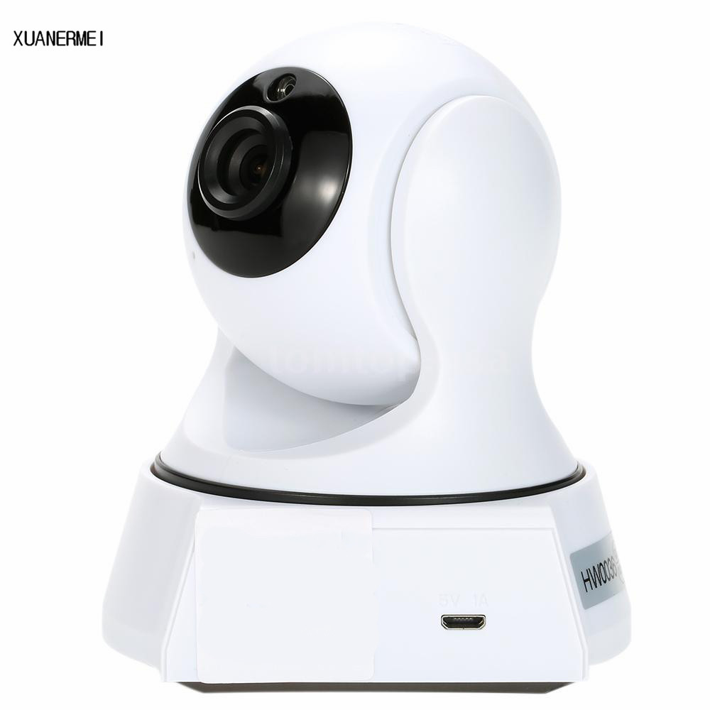 XUANERMEI Baby monitor 720P Pan Tilt Security IP Camera WiFi Home Security with Night Vision Two Way Audio P2P Remote View fghgf 720p wireless ip security camera baby pet video monitor home security system with pan and tilt two way audio night vision