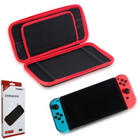 Portable Console Bag EVA Hard Shell Storage Bag For Nintendo Switch NX Game Console Pouch Zipper