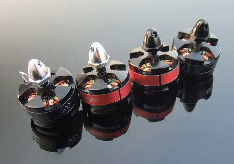 BR2204 2300KV brushless motor for FPV QAV250 quadcopter drone spare parts accessories