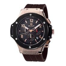 MEGIR Men Quartz Chronograph Waterproof Wristwatches Hot Sale Sport Watch Top Quality Military Digital Watches Relogio