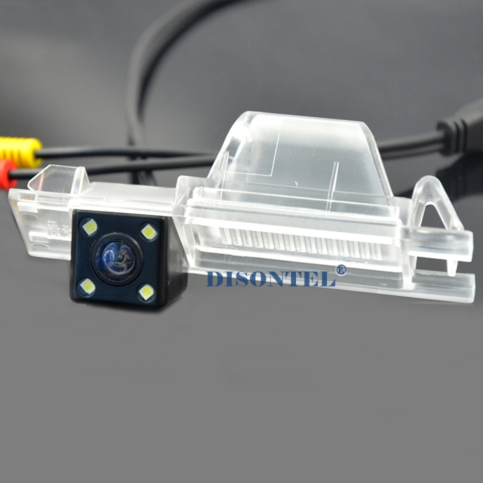 wired wireless Car Rear View Camera With 4 LED HD CCD Camera For Renault Megane 3 2009-2013 parking reverse camear night vision