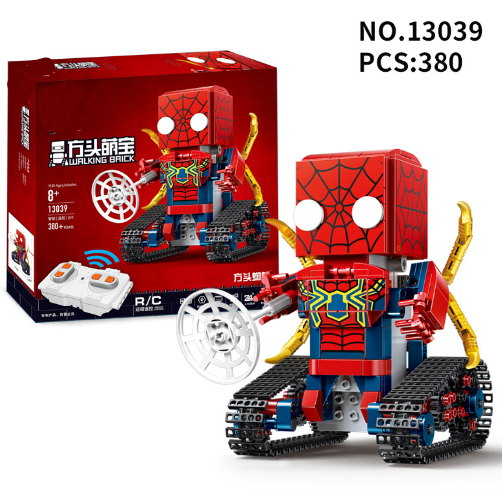 Sermoido Sale Spiderman Iron Man Captain America Superman Figure Motorcycle Super Hero Model Cap Building Blocks Set Model Kits in Blocks from Toys Hobbies