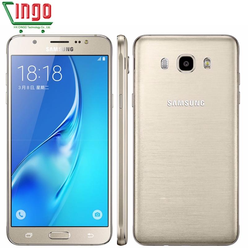 Original Samsung Galaxy J5 2016 CELL Phone 16GB ROM 2GB RAM 5 2 inch Screen Quad
