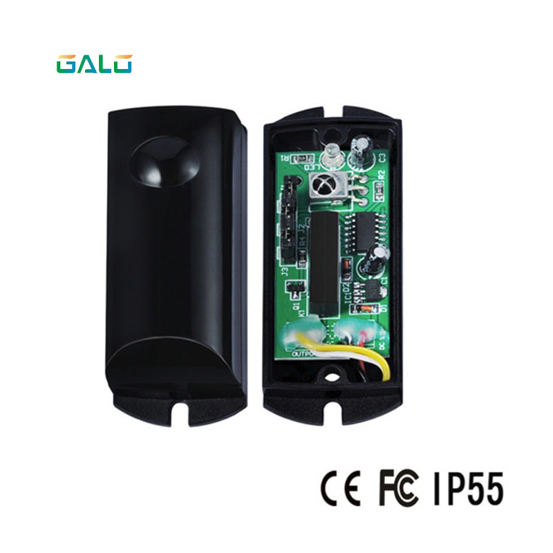 galo Alarm System infrared beam detector OEM sliding gate Photocells a Pair heavy duty 1800kg automatic sliding gate motor for gate drive with infrared sensor alarm lamp and loop detector