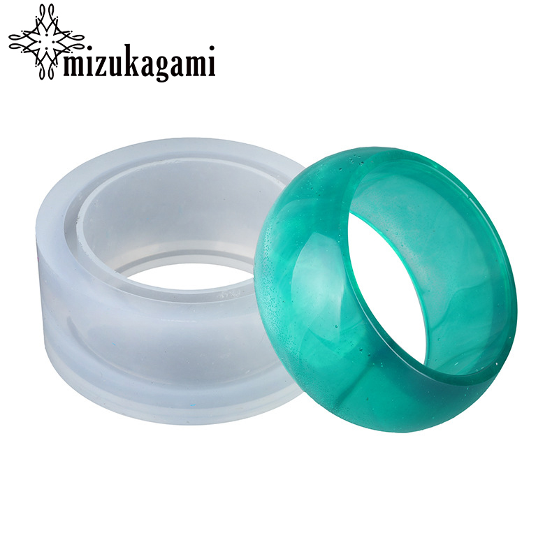 1pcs UV Resin Jewelry Liquid Silicone Mold Wide Bracelet Resin  Molds For DIY Intersperse Decorate Jewelry Making 1pcs UV Resin Jewelry Liquid Silicone Mold Wide Bracelet Resin  Molds For DIY Intersperse Decorate Jewelry Making