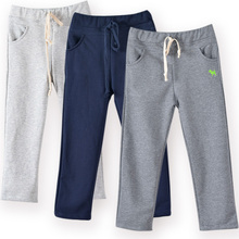 Retail New spring autumn cotton kids pants Boys Girls Casual Pants Kids Sports trousers Harem pants Hot 5-15T years