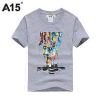 A15 Boy T Shirts For Children Cotton Summer 2017 3D Printed T Shirts For Girl Kids