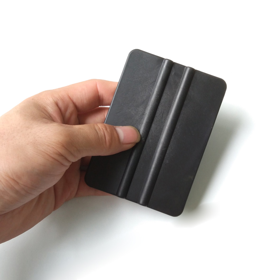 Image 2 - Супер мягкий скребок автомобиля обертывание применение инструмент 10*7 см черный виниловый ракель для автомобиля обертывание ping MO 715-in Наклейки на автомобиль from Автомобили и мотоциклы