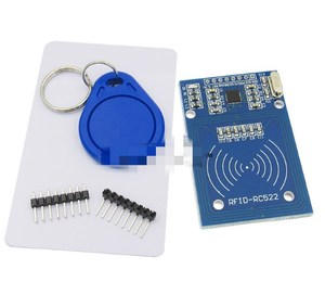 Mfrc522 rfid RF Module Sends S50 Fudan Inductive IC Card Keychain Card Reader RC522 1pcs/lot(China)