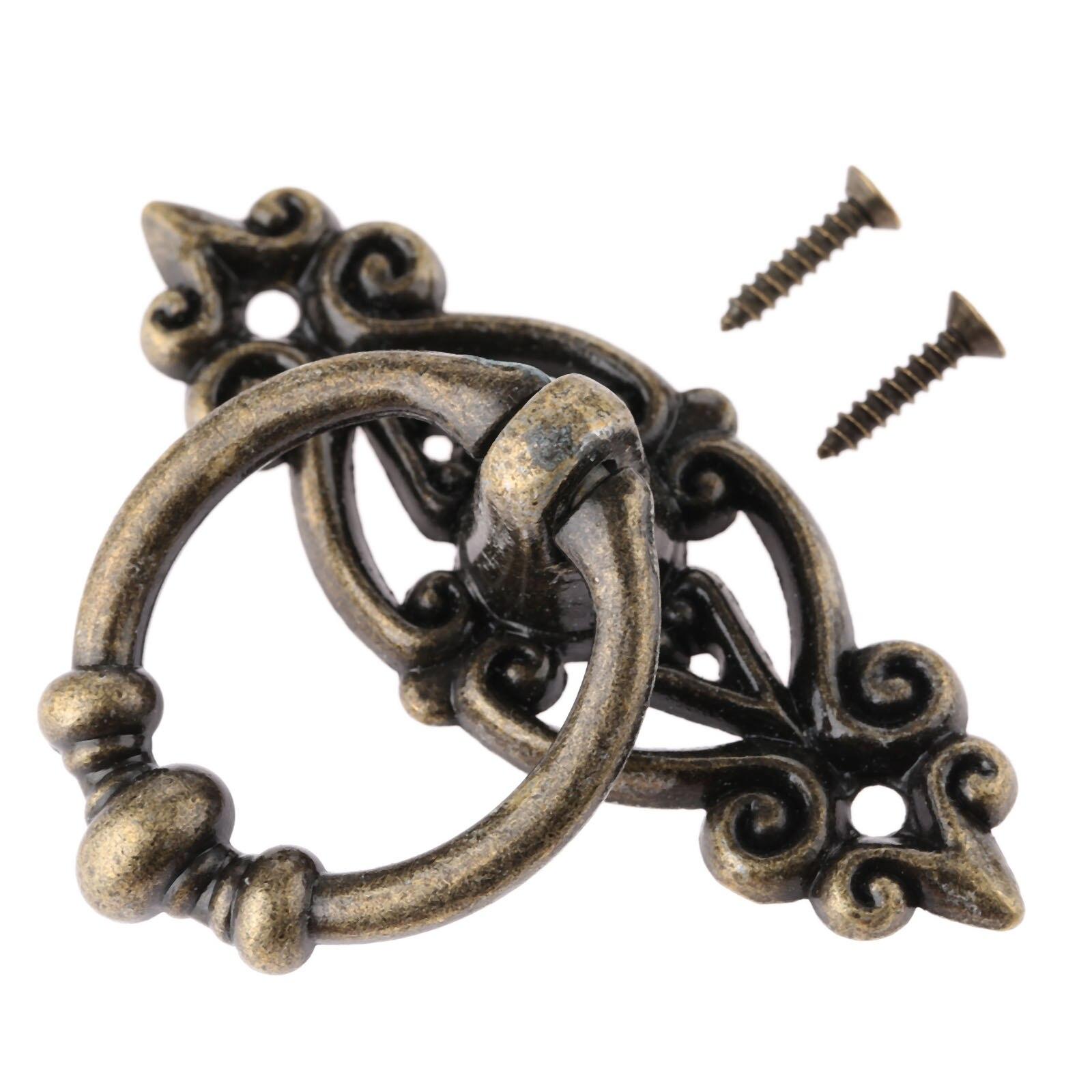 Antique furniture handle cabinet knobs and handles vintage for Furniture handles